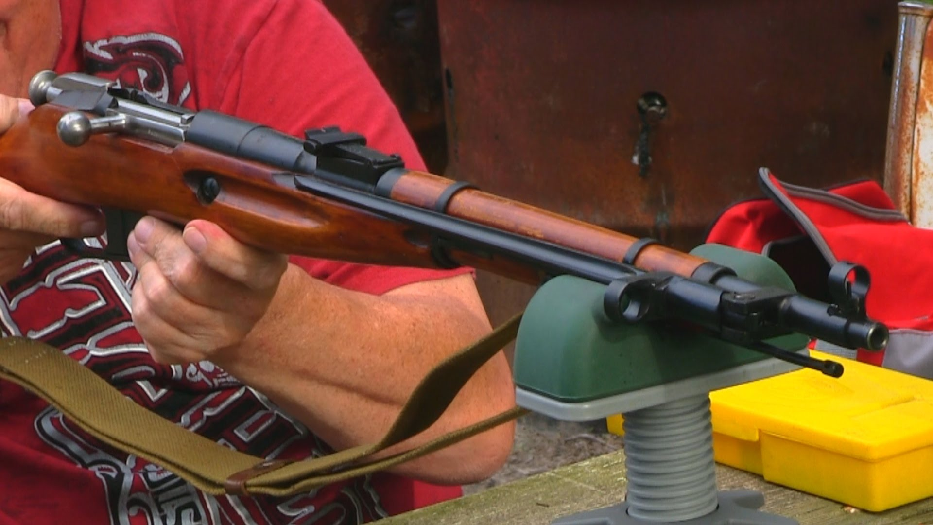 M44 Mosin Nagant With Polished Bolt
