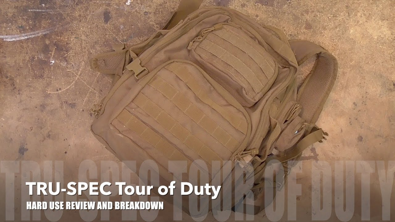 TRU-SPEC Tour of Duty BACKPACK Review