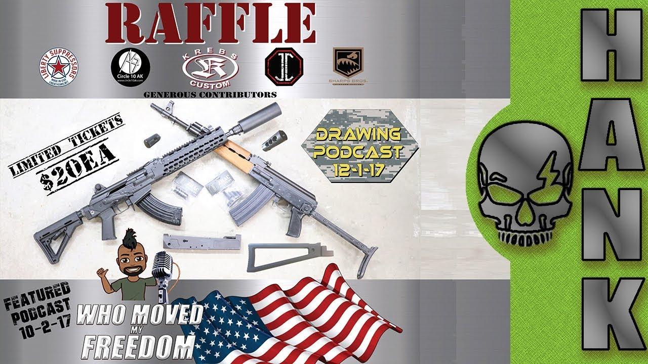 Krebs Custom Raffle AK-47 Giveaway