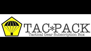 Tacpack October 2018 Unboxing!