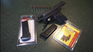 Ruger 9 round extended magazine for the Ruger EC9S, LC9S, LC9.