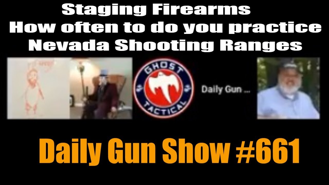 Staging firearms - How often to do you practice - Nevada Shooting Ranges -