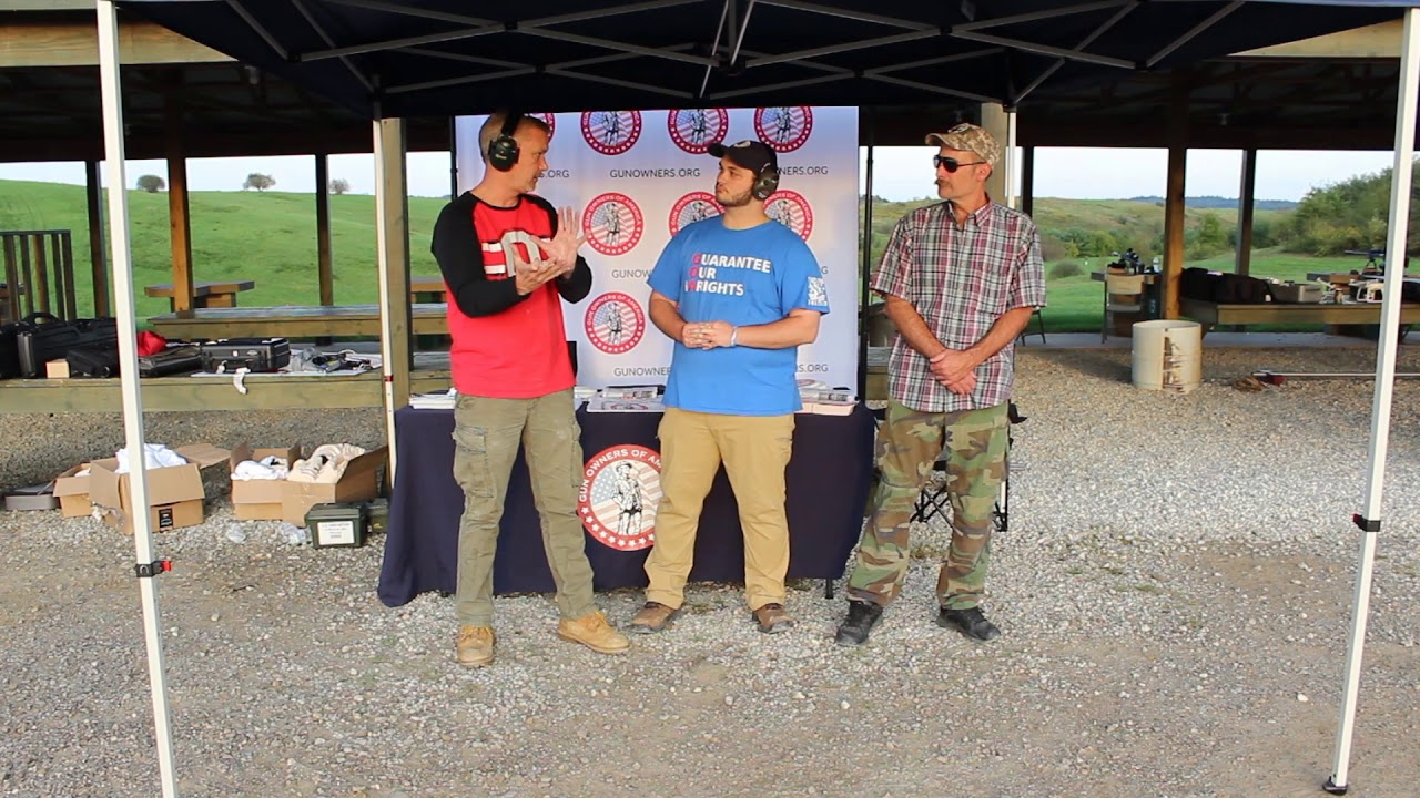Interview with Jordan Stein from GOA (gun owners of America)