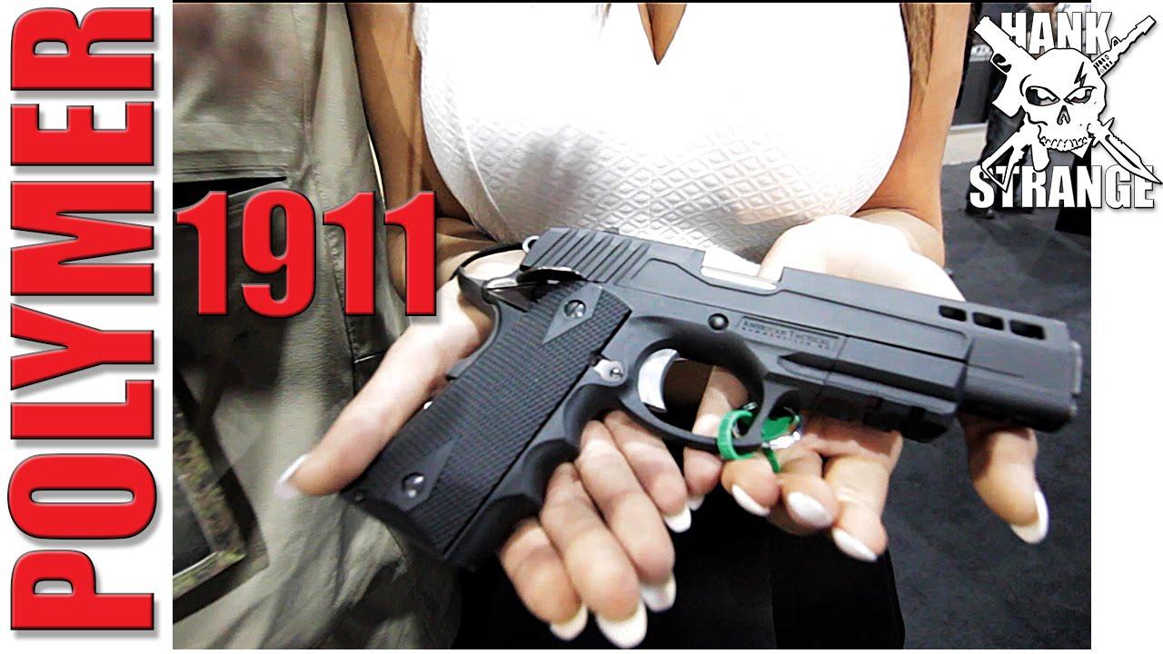 New Polymer 1911 ATI 2015 SHOT Show