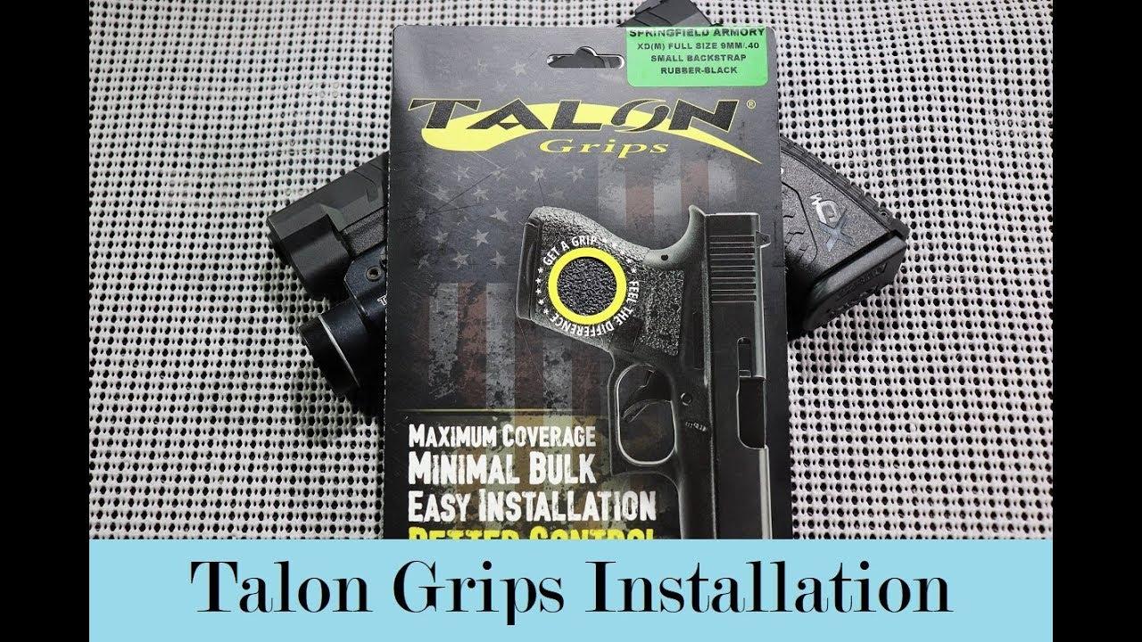 Talon Grips Install Video