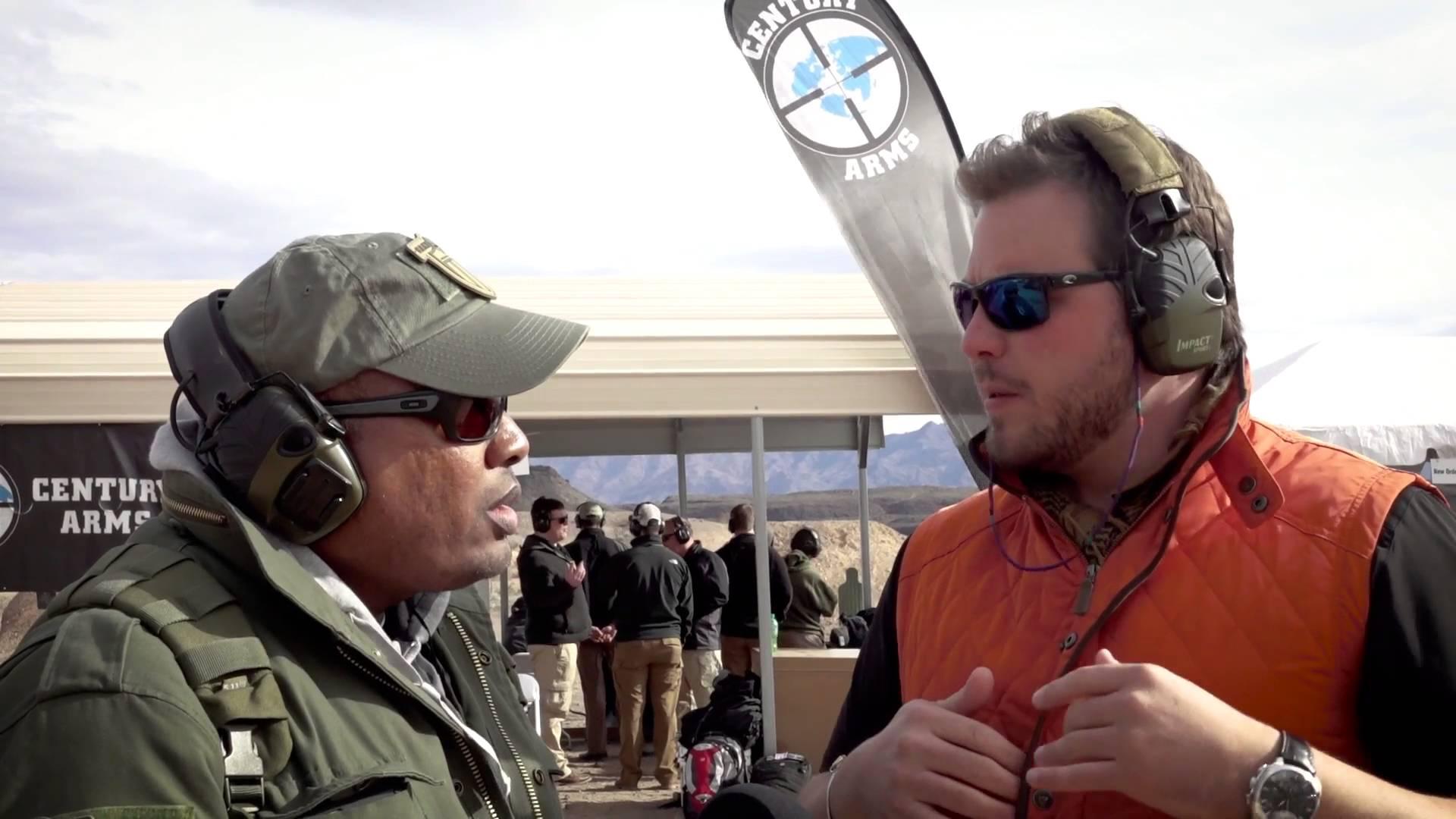 Century Arms SBR AK's SHOT Show 2016 Media Day GunsAmerica