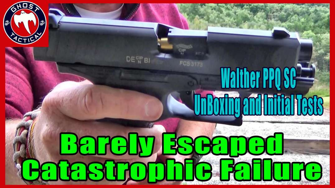 WHAT'S IN THE BOX?  Walther PPQ SC (Sub-Compact) Unboxing, Barely Escaping Catastrophic Failure