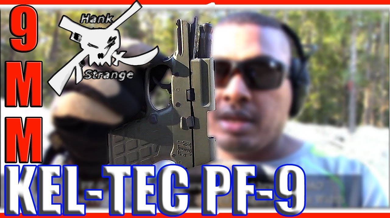 Shooting Kel-Tec PF9 9mm Pistol EDC HandGun Quick Shots Video