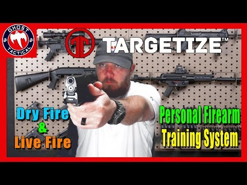 Improve Your Shooting Anywhere:  Targetize Personal Firearm Training System:  Dry Fire Review