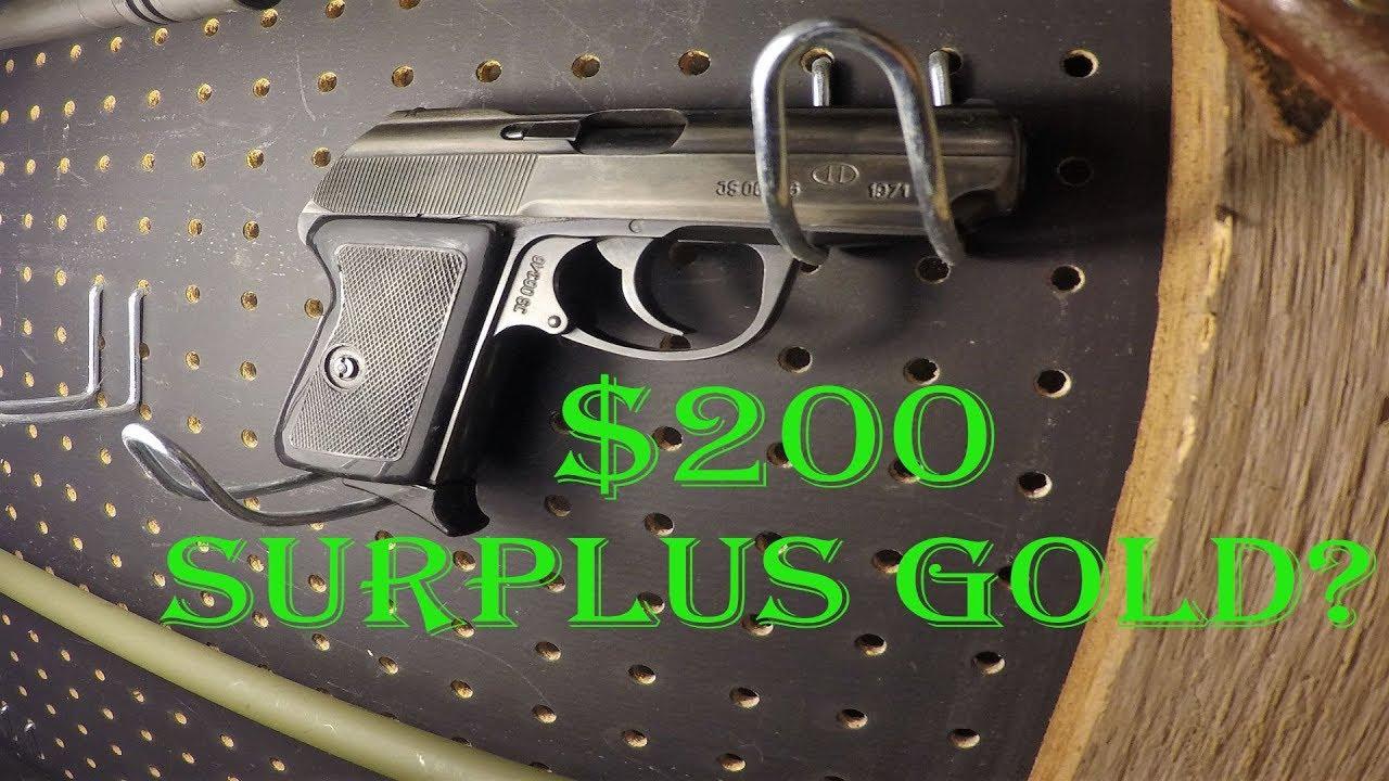 Polish Radom P64 Makarov Review.  Gun Wall Review #6
