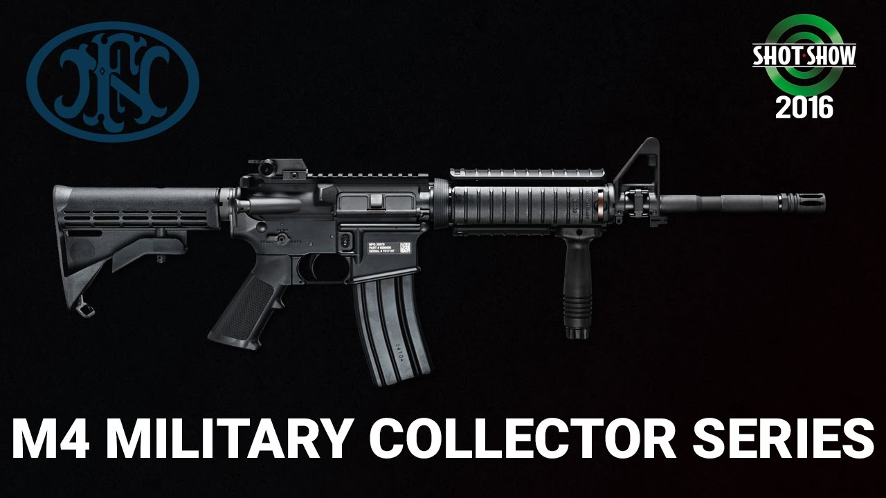 FNH M4 Military Collectors Series - SHOT Show 2016 Range Day