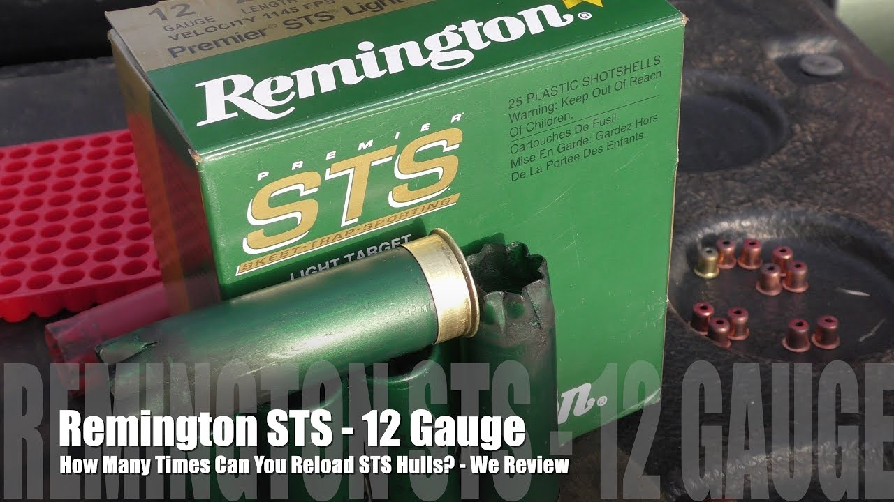 How Many Times Can You Load Remington STS Hulls? - We Review