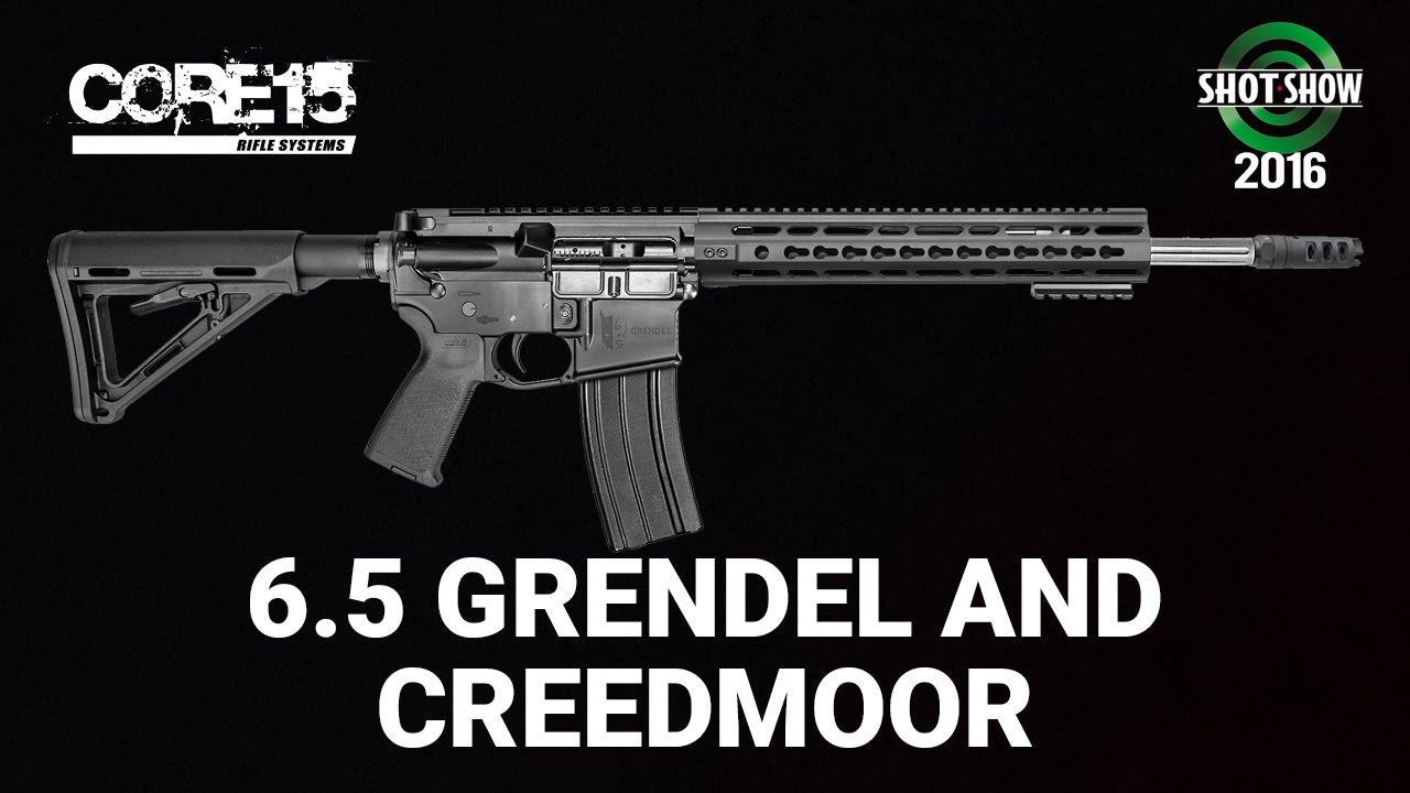 Core Rifle Systems 6.5 Grendel & Creedmoor - SHOT Show 2016
