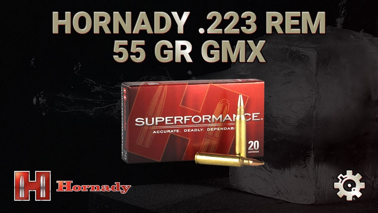 Hornady 223 Remington 55gr GMX | Ballistic Gel Test
