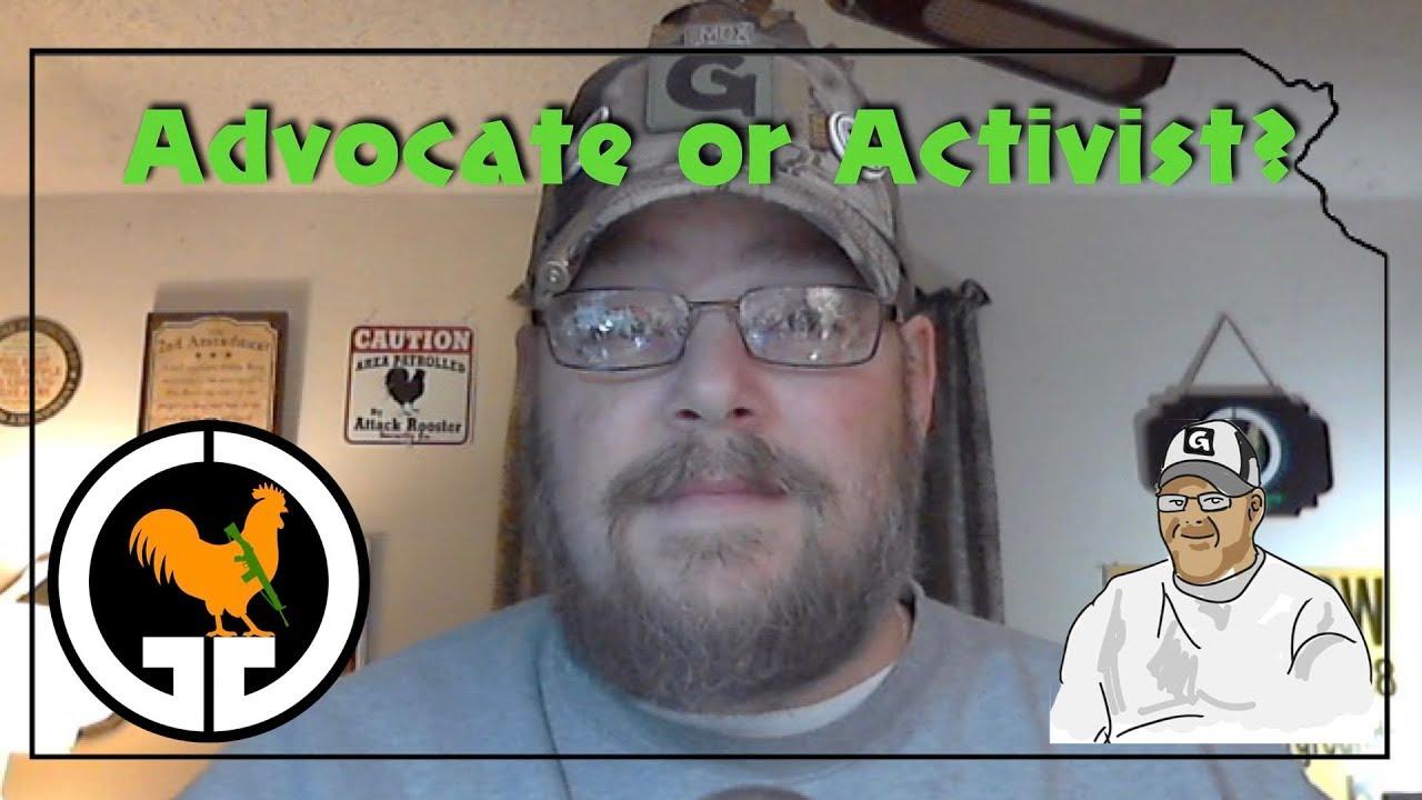 Advocate or Activist?