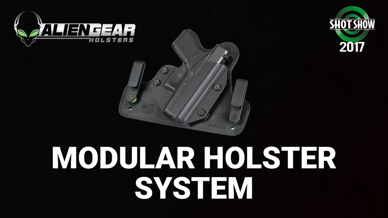 Alien Gear Modular Holster System - SHOT Show 2017 Day 2