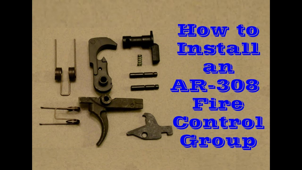 How to Install the Fire Control Group on an AR-308