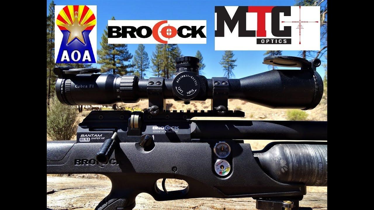Brocock Bantam Sniper HR/Range Test&Field Review