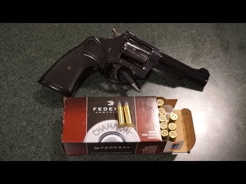 Charter Arms Police Bulldog .38 Special Revolver Range Test!