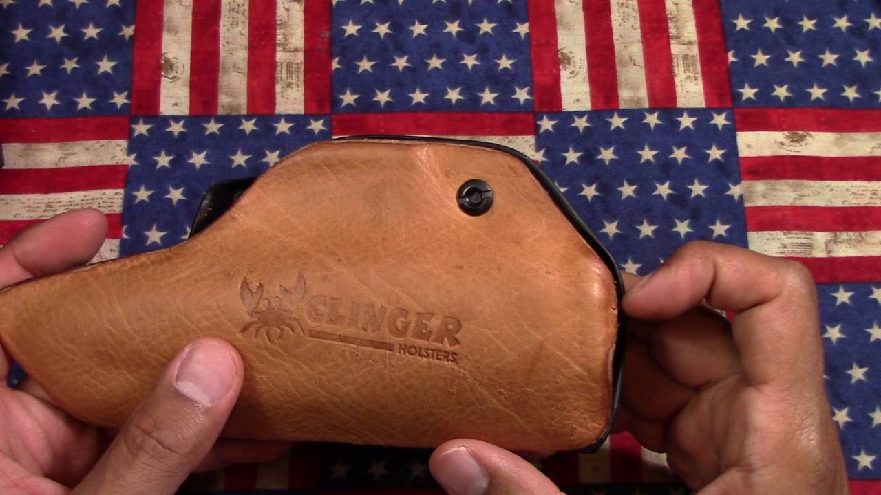 Clinger Holsters: Their new hybrid called the Leather Back