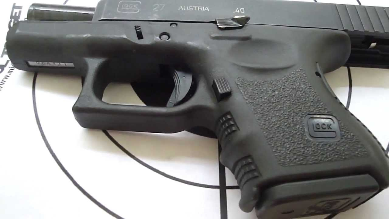 Glock model 27 / Ready for Self Defense ammo