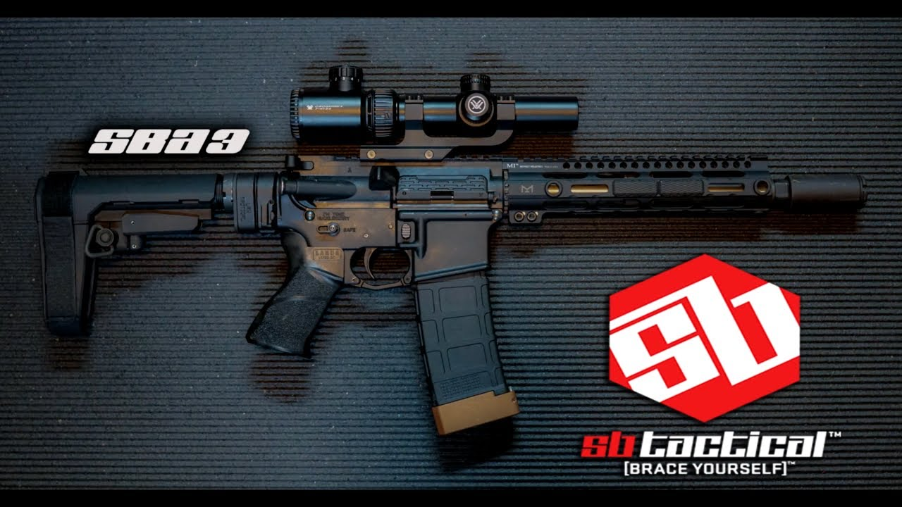 SB Tactical SBA3 Showcase video(#lifeisshwell)
