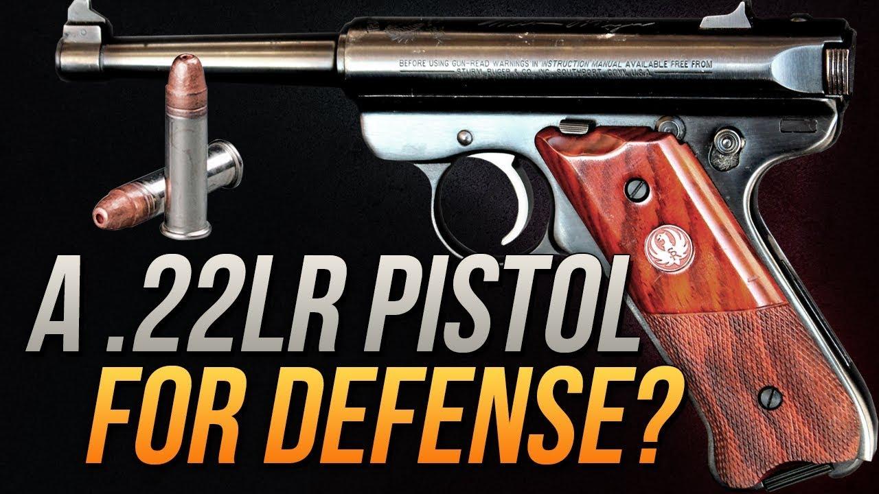 A .22lr Pistol For Defense?!? .22lr CCI 32gr Stinger Gel Test