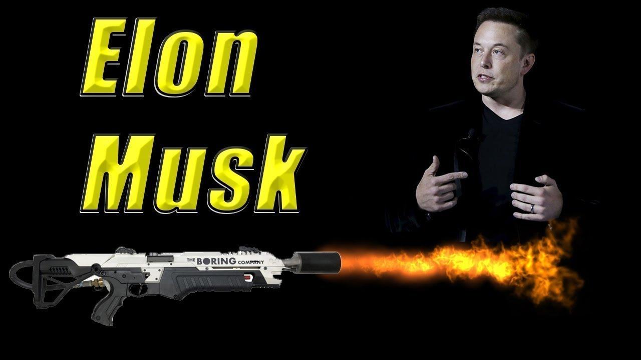 WMMF Clips: Elon Musk's Boring Company Sells $500 Flamethrowers