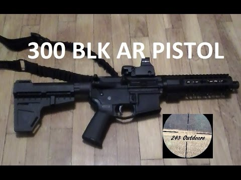 300 Blackout AR Pistol