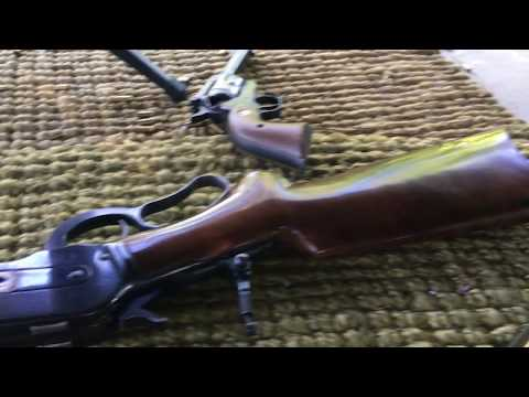 Big bore lever action 50-110 WCF 500 grain bullets 50 BMG bullets cut down