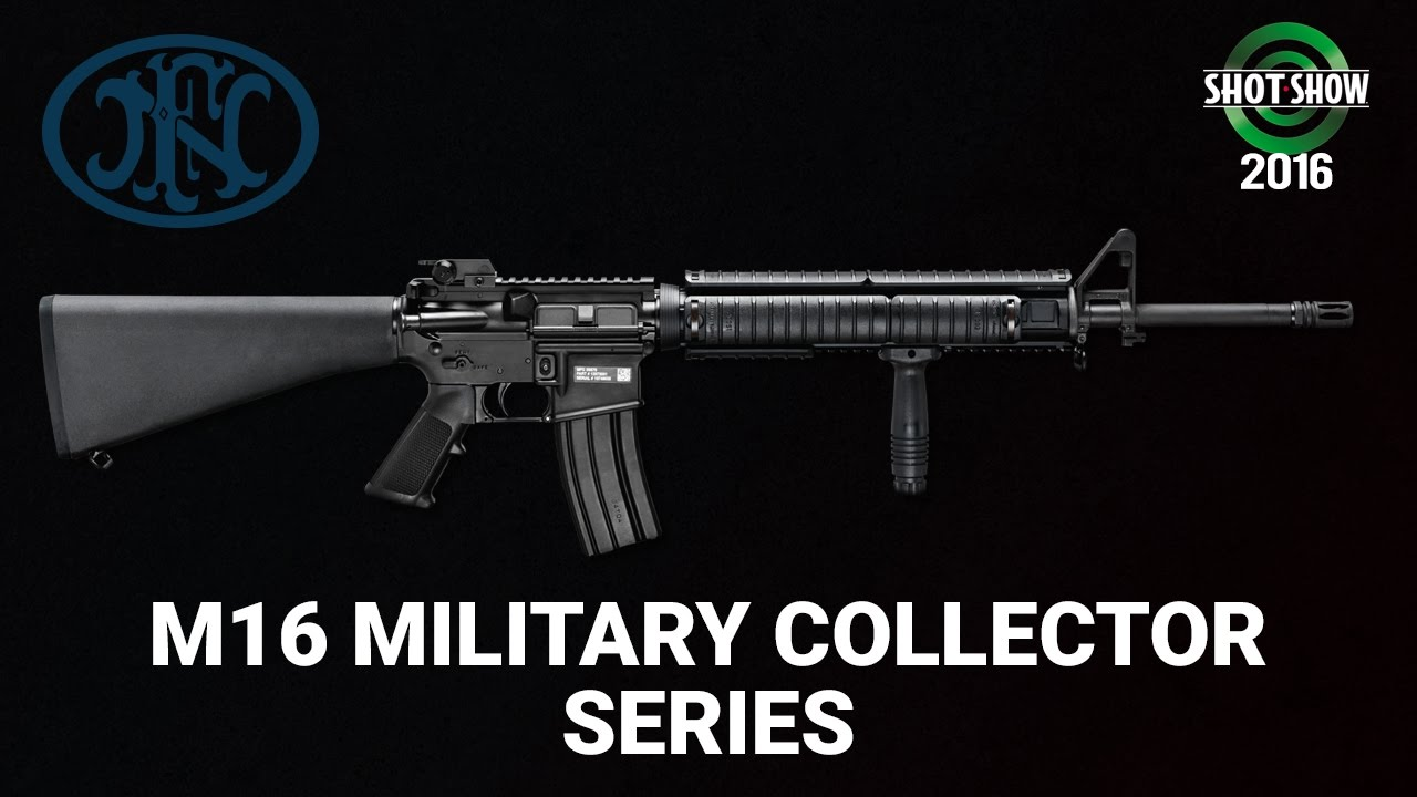 FNH M16 Military Collectors Series - SHOT Show 2016 Range Day