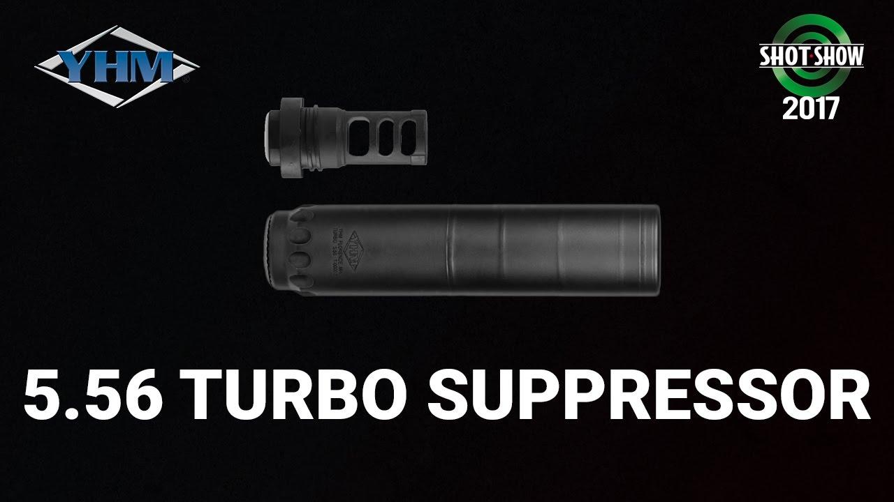 YHM Turbo Suppressor - SHOT Show 2017 Range Day