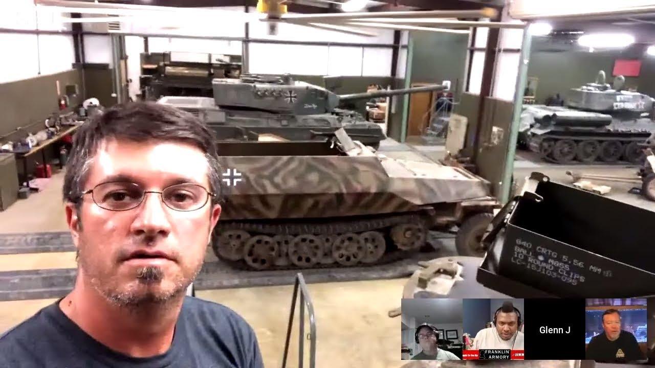 Inside WWII Sherman Tank With Glenn Fleming : WMMF Clips