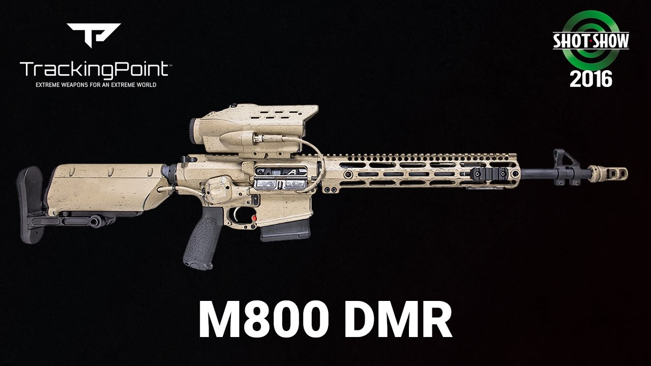 TrackingPoint M800 DMR - SHOT Show 2016 Range Day