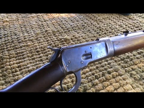 The1892 Winchester take down in 32-20 wcf  or 32 wcf (32 Winchester lever action rifle Center fire)