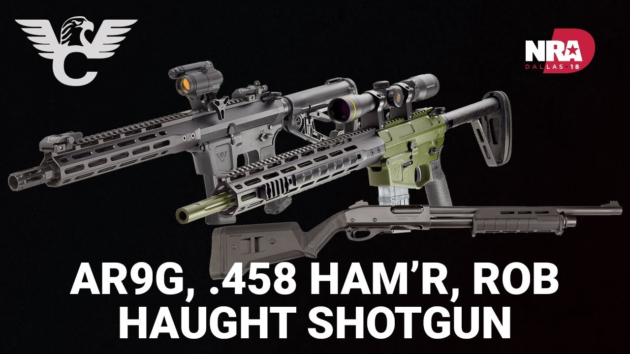 AR9G, 458 Ham'r, Rob Haught Shotgun - Wilson Combat