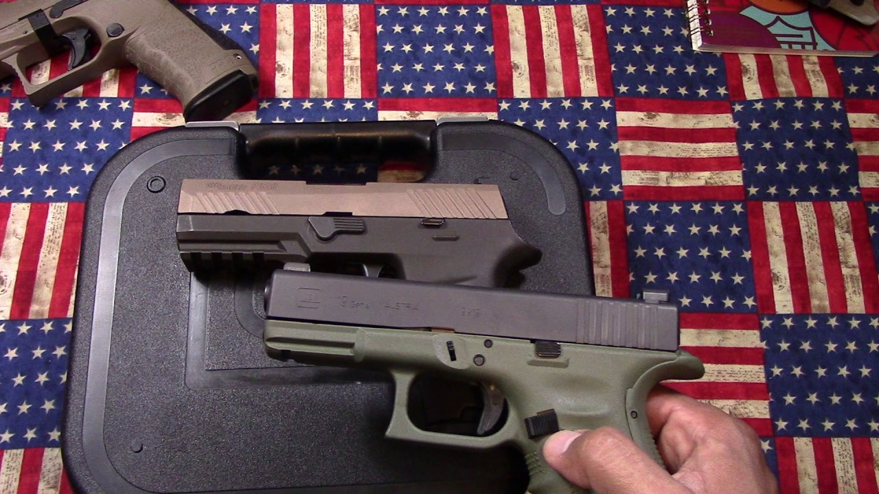 Glock 19 Battlefield Green: Why the heck not!!
