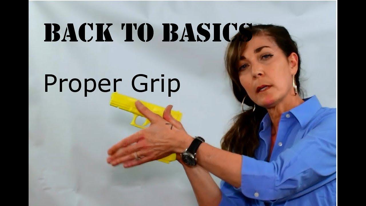 Proper Pistol Grip - BACK TO BASICS - Part 2