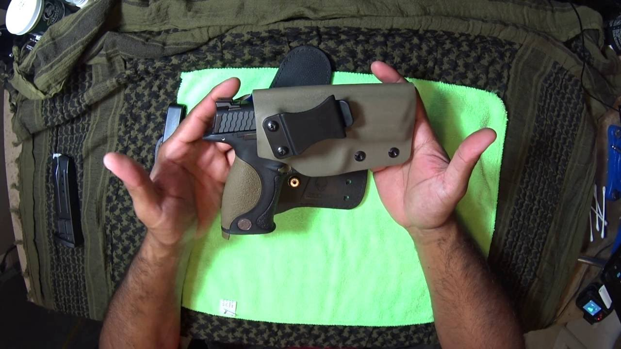 Tactical Justice IWB kydex Holster