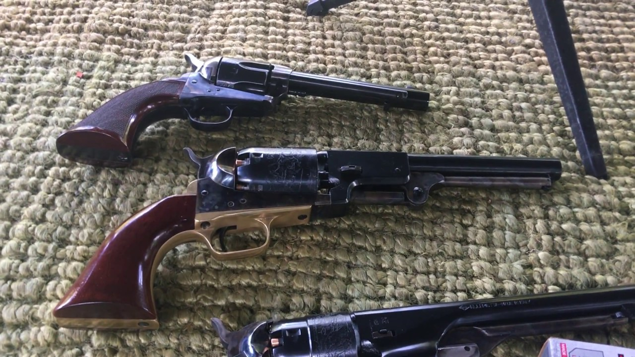 Colt Dragoon and a1860 army versus 1873 colt single action Army, 45 Colt