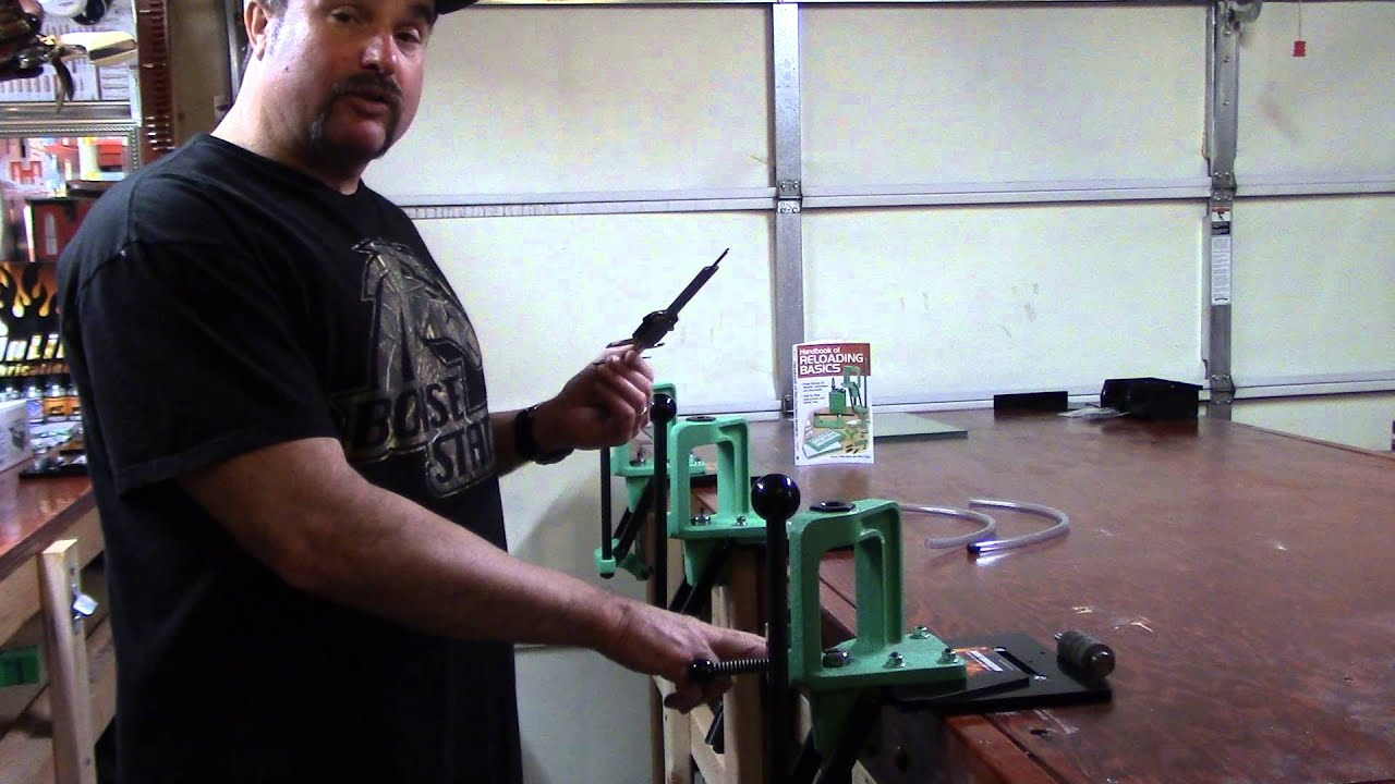 WBR, Video 68, How to Measure Ram Travel on A Single Stage Press