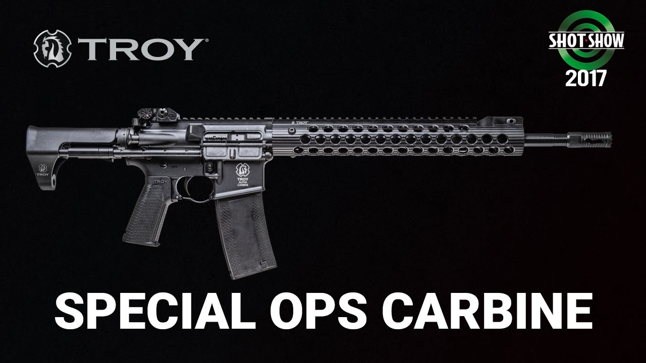 Troy Special Operations Carbine - SHOT Show 2017 Day 2