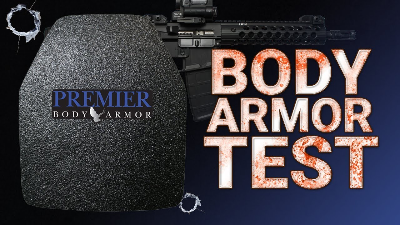 Premier Body Armor Test | Level III Steel Plate