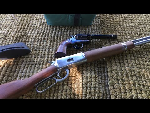 Rossi 92 lever action carbine all weather stainless steel in 45 colt