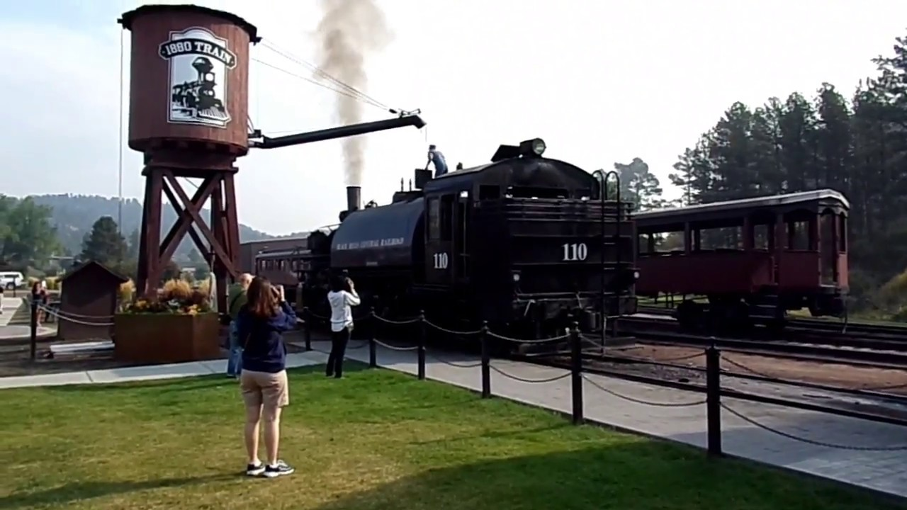 1880 Train, Riding on the Steam Train in the Black Hills