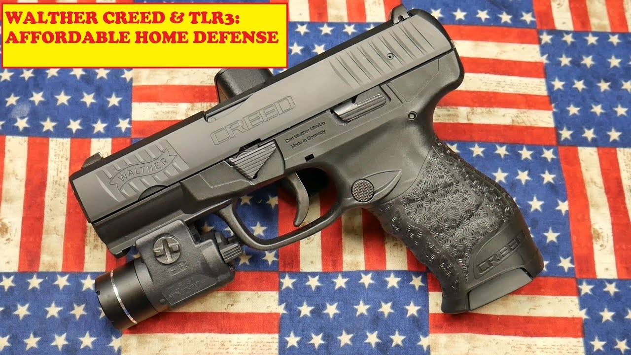 WALTHER CREED & TLR3: AFFORDABLE HOME DEFENSE