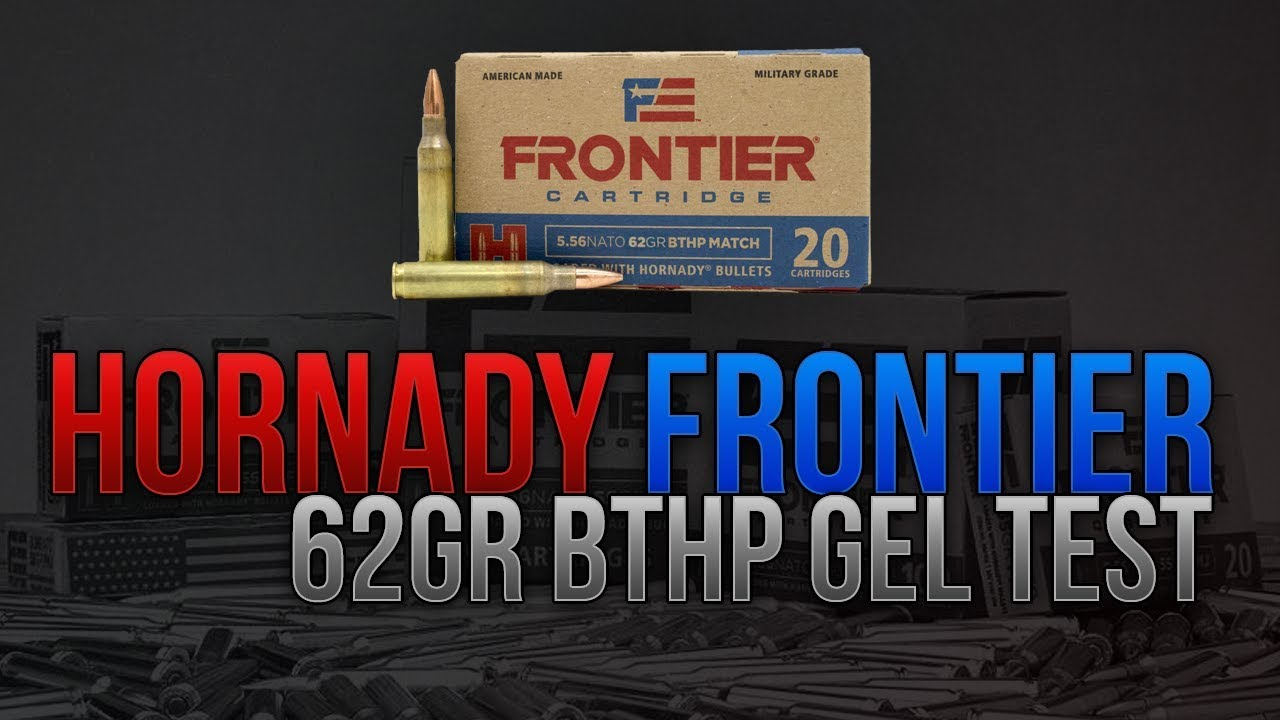Home Defense .223 On A Budget? Hornady Frontier 62gr BTHP Gel Test