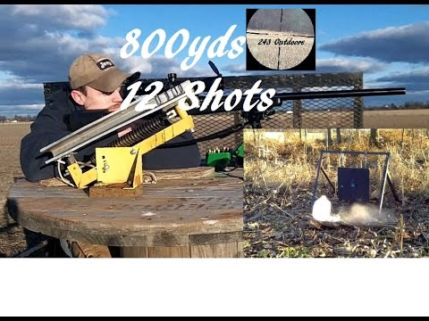 800 yard milk jug in 12 shots