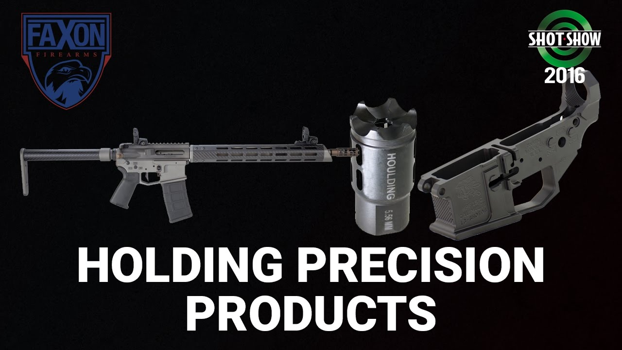 Faxon Firearms Houlding Precision Wraith, Muzzle Brake, Receivers - SHOT Show 2016