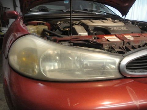 '98 Ford Contour Headlight Restoration, Cabin Filter & Air Filter Replacement